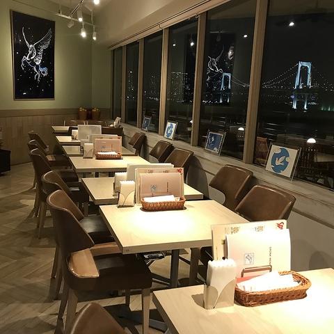 お台場の景色をお楽しみ頂きながら、美味しい本格タイ料理をご提供致します!!