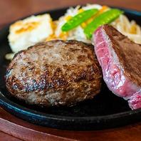 肉汁熟成ハンバーグ(250g)がおすすめ!
