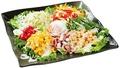 料理メニュー写真彩りシーザーサラダ