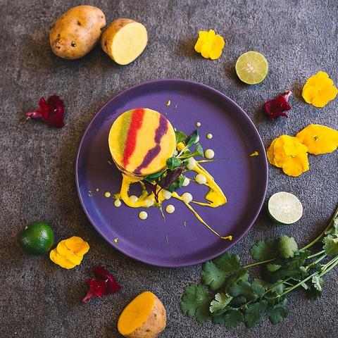 【トラディショナルコース】前菜〜メイン、デザートのペルー料理スタンダード全5品