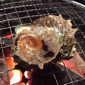 料理メニュー写真サザエの壺焼き