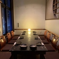 13名様まで収容OKの夜景を一望できるテラス個室をご用意。ご宴会にピッタリです