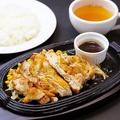 料理メニュー写真≪ボリュームNo.1≫チキンステーキセット 100g