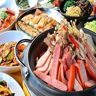選べる鍋コース4000円