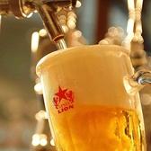 サッポロビールの工場が隣接♪きめ細やかでのど越し爽やかなこだわりビールをご堪能頂けます。