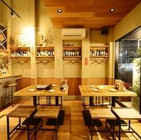 おいしいお酒と美味しい天ぷらをお楽しみください