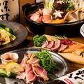 料理メニュー写真絶品地鶏の宴会コース飲み放題付き3500円~