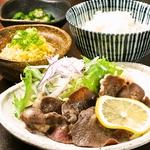 ランチは牛タン塩焼きなど750円(税別)~ご用意しております。