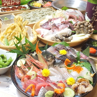 贅沢で欲張りな魚料理専門居酒屋