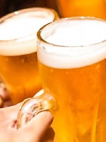【生ビールもOK】週末もご利用可能!120分単品飲み放題プラン1650円(L.O.30分前)