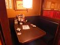 ゆっくりとお座り頂けるテーブル席です。
