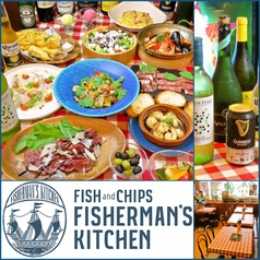 DINING FISHERMAN'S KITCHEN フィッシャーマンズ キッチン 門前仲町の写真