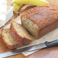 料理メニュー写真バナナ・ブレッド