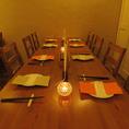 お集まりに最適なお席です♪各種御宴会ご予約お待ちしております!「ぐるまんアネックス」は厳選のワインと充実したアラカルト料理のマリアージュが楽しめるお店です。会社のご宴会や飲み会、女子会や同窓会、誕生日、記念日には当店をご利用ください。36名様までの個室をご用意しております。