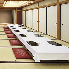 2階の和室席です。20~30様までご利用いただけます。