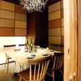 VIP個室は特別感たっぷり5~8名までの飲み会にどうぞ♪※5名様からの御利用とさせて頂きます。御了承下さい。