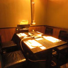 落ち着くテーブル個室席のご用意ございます!