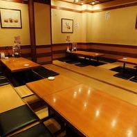 最大宴会40名様★ゆったり宴会部屋ございます。