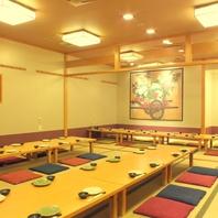 歓迎会・送別会・同窓会…大宴会に◎60名個室あり!