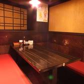 【3階】ゆったりくつろげる席を多数ご用意♪一番奥の席はまわりを気にせず楽しめる半個室席!