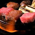 料理メニュー写真阿蘇赤牛溶岩焼き