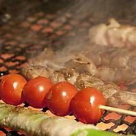 圭助といえば【炭火焼き】牛タンはもちろん、串焼きも!