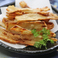 料理メニュー写真牛蒡チップス