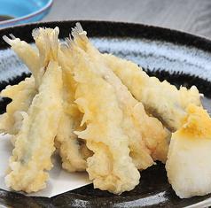 料理メニュー写真小鰯の天ぷら
