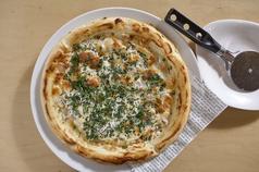 しらすと大葉チーズのピッツァ