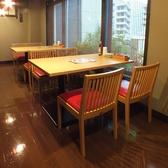 【4階】テーブル席も完備しております♪
