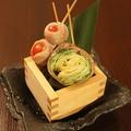 料理メニュー写真選べる肉巻き野菜串2種盛り合わせ~下記の肉巻き串からお好きなものを2種お選びください~