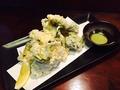 料理メニュー写真メカブの天ぷら