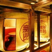 巨大な酒樽は内側が6人用の個室となっており、その大きさは圧巻のひと言!!