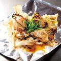 料理メニュー写真牡蠣バター 広島レモポンたれ