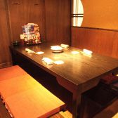 掘りごたつタイプの個室席は足元ゆったり楽チンです!人気の4名個室は女子会、男子会、会社飲み会など様々なシチュエーションにぴったり!ゆっくり3時間飲み放題付きのお得なコースもご用意しています。お席のみのご予約も◎飲み会するなら是非『わん 横浜西口駅前店』で仲間とワイワイお楽しみ下さい♪