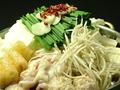 料理メニュー写真3. 慶州もつ鍋 しょうゆ味