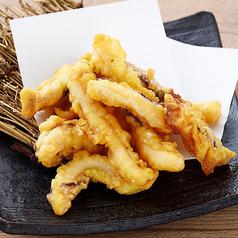 料理メニュー写真いかの塩天ぷら