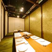 大人数の宴会も、少人数で集まる飲み会や食事会も、プライベート感たっぷりな個室で、周りを気にせずにくつろぎの時間が過ごせます。
