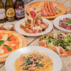 おいしいピザが食べられるお店 FUN 横浜のコース写真