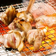 鶏の炭火焼き