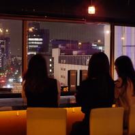 夜景とカクテル☆