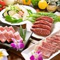 料理メニュー写真三種のステーキプラン