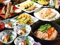忘年会・同窓会など各種宴会コースは4000円~ご用意♪詳しくはコースページをご覧ください。