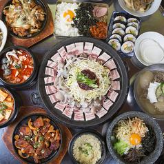韓国料理 ナジミキンパの写真