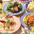 料理は品温が命!!調理後も保温して温かいお料理を提供致します。写真は一例です