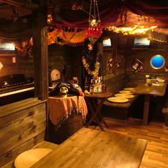 海賊流気まま料理 ドリィ船長のひげダンスの雰囲気1