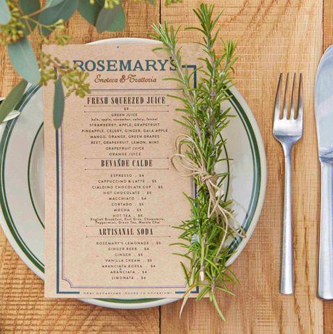 オーナーのCalros Suarezの母・Rosemaryが暮らすイタリア・トスカーナ地方「ルッカ」にインスピレーションを受けたシンプルでやさしさに満ちた料理に、ニューヨークのエッセンスを加えTOKYOへ。新宿とは思えないロケーションの中でワインと共にお楽しみ下さい。