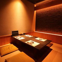 人気の個室。ご予約はお早目に♪