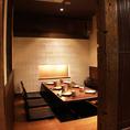 広々宴会個室は女子会・合コンに。