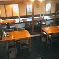 店舗貸し切りのOK!テーブル席やソファー席で少人数での飲み会・パーティー・女子会・誕生日会も大歓迎!